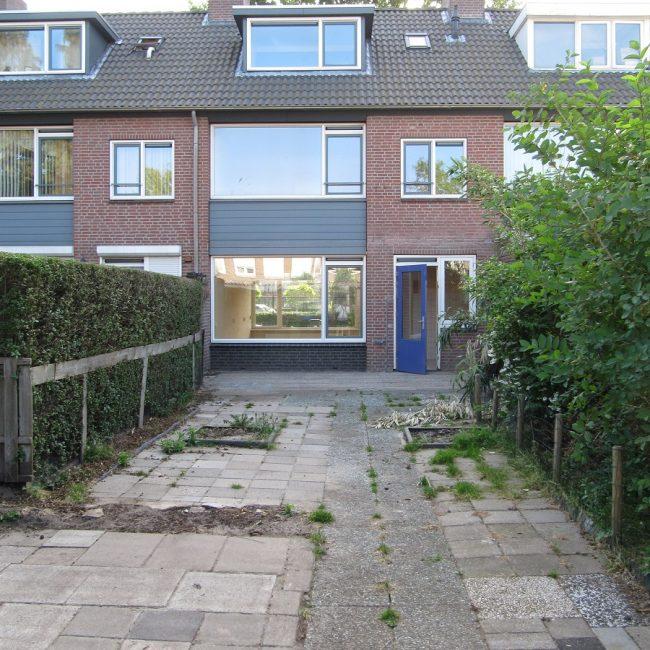 Tuinrenovatie Cornelis Dopperstraat - voor aanvang tuinrenovatie
