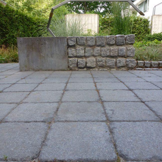 Waterornament en brug - materialenpallet