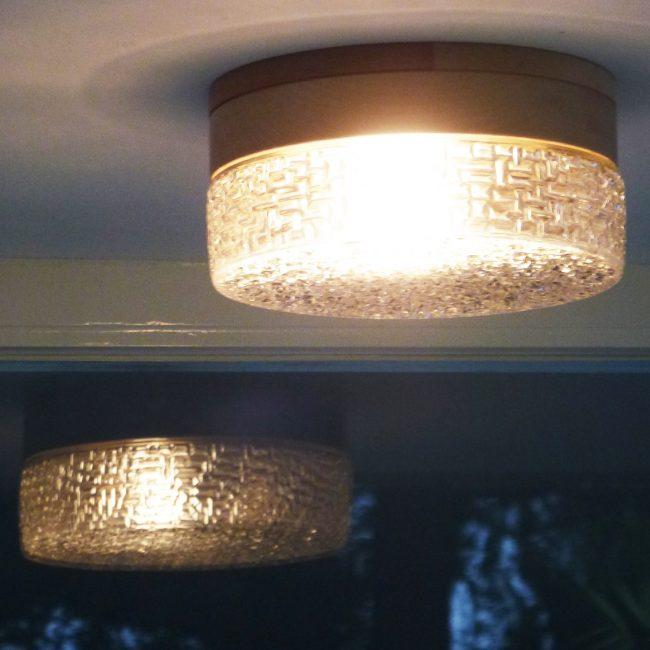 Plafonnière - licht en reflectie