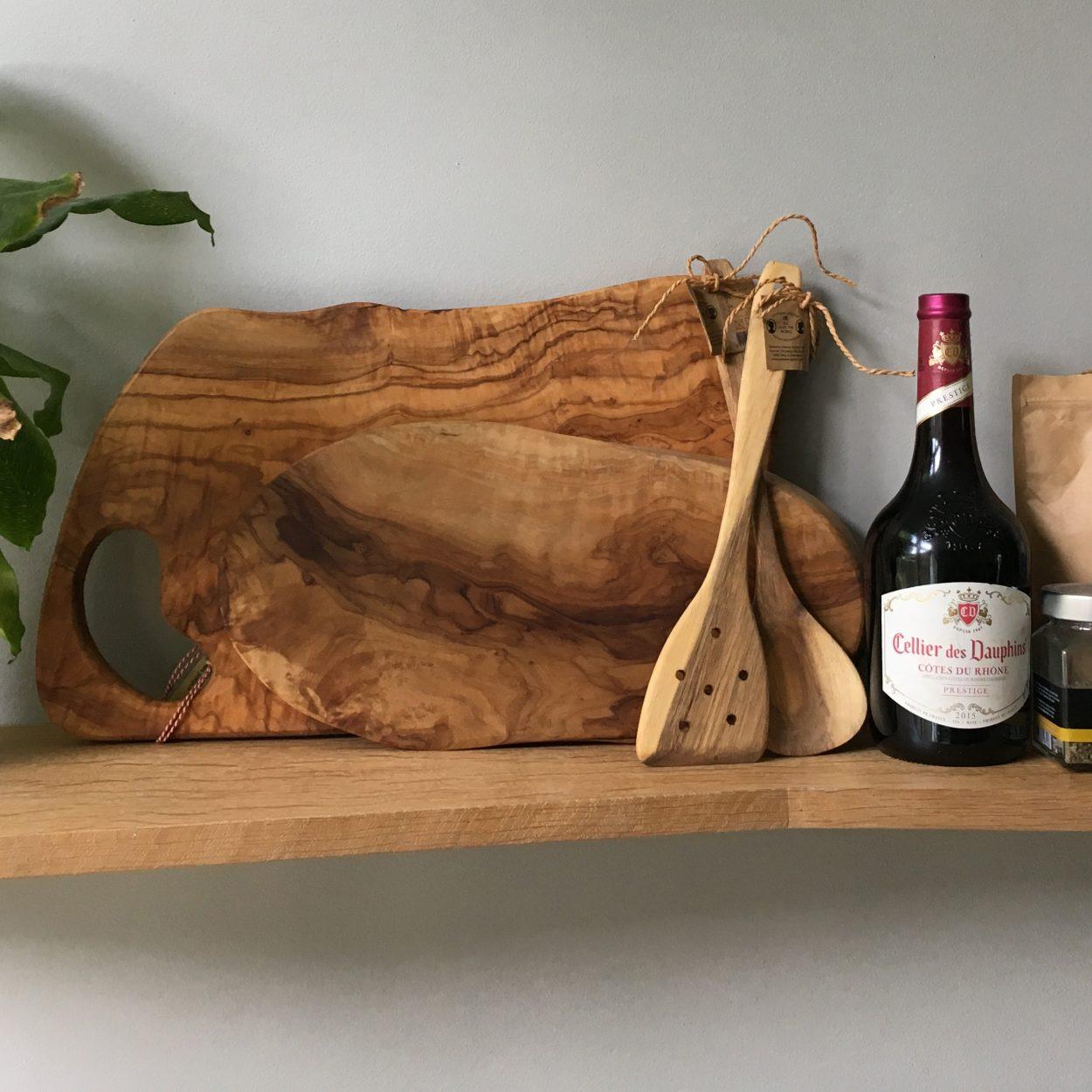 Keukenrenovatie - plank eiken blind gemonteerd