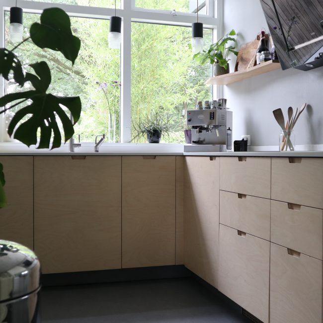 Keukenrenovatie - overzicht aanrecht