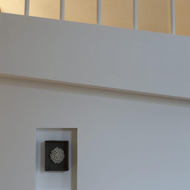 Inloopkast - nisje en trapboom